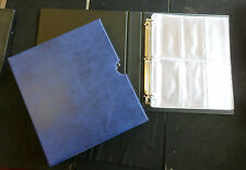 Quality New Medal Album & slip case with 12 pages choice of colours