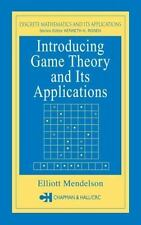 Introducing Game Theory and its Applications Discrete Mathematics and Its Appli