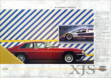 JAGUAR XJS 3.6 SPORT XJ-S RETRO A3 POSTER PRINT FROM CLASSIC 80's ADVERT