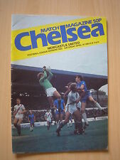 Chelsea  v Newcastle United 1982-83