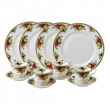 Royal Doulton-Royal Albert Old Country Roses 11-Piece Set, Service for 4
