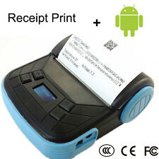 Portable Bluetooth 80mm Thermal POS Receipt Printer Mobile Pinter for Android