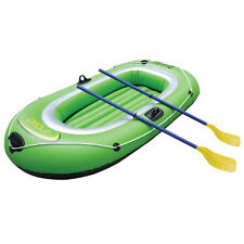 Debut Sports Two Person Inflatable Dinghy with Oars