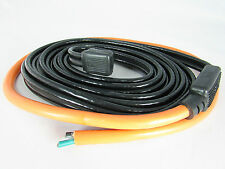 PIPE HEATING CABLE-INSULATED WITH POLYVINYL-12 FEET-120VAC-84WATTS 50/60Hz