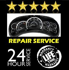 FITS CHEVY TAHOE INSTRUMENT CLUSTER GAUGE SPEEDOMETER REPAIR REBUILD