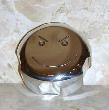 "NEW! POLARIS SPORTSMAN QUAD / QUADS BILLET UPGRADE GAS CAP ENGRAVED ""SMILEY""!"