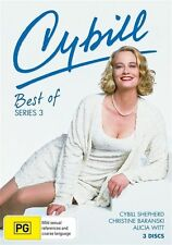 Cybill - Best Of : Series 3 (DVD, 2009, 2-Disc Set) New Sealed Region 4
