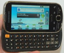 Samsung Intercept M910 Android Cell Phone Sprint Steel Gray keyboard slider -C-