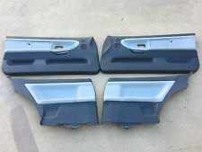 92-98 bmw e36 coupe dove grey door panels with padded airbag doors