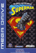## SEGA Mega Drive - The Death and Return of Superman / original MD Spiel ##