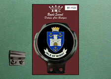 Royale Classic Car Badge & Bar Clip ISLE OF WIGHT Mod B1.1122