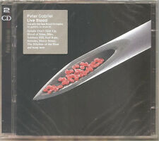 "PETER GABRIEL ""Live Blood"" 2CD sealed"