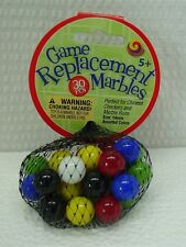 "30 Mega Net Game Replacement Marbles-Chinese Checkers-14mm(1/2"")All Colors"