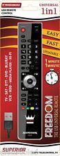 TELECOMANDO UNIVERSALE X TV SAT DIGITALE DVD  BLURAY HI-FI VCR HDD TUTTE MARCHE