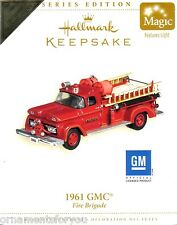 HALLMARK 2006 Fire Brigade 1961 GMC In Store Event Ornament