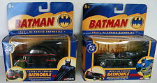 BATMAN SET OF 2 BATMOBILES CORGI 1960's/1940's 1:43 SCALE BATMOBILE