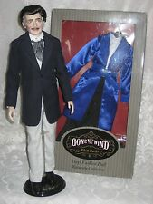 "Franklin Mint Rhett Butler Gone With TheWind 16"" vinyl Doll & 'Honeymoon' Outfit"