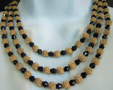 VINTAGE TRIFARI ELECTRA COLLECTION LAYERED  NECKLACE 60'S ESTATE JEWELRY