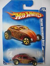 Hot Wheels CUSTOM VOLKSWAGEN BEETLE - Red variant 2009 Heat Fleet 05/10 vw bug