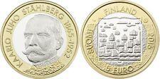 5 EURO FINLANDE 2016 UNC - KARLO JUHO STAHLBERG 1865 - 1952