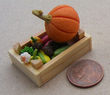 1:12 Boxed Mixed Vegetable Selection Dolls House Miniature Food Accessory V2
