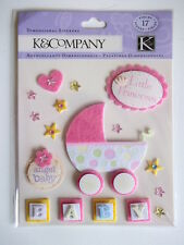 K&CO DIMENSIONAL STICKERS - LITTLE PRINCESS baby girl