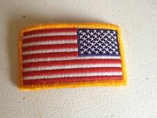 USA AMERICAN FLAG TACTICAL US ARMY MILITARY REVERSE VELCRO PATCH