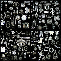 Random Mix - Tibetan Silver Charms - Beads -  Findings  Jewellery Mix Vintage ML