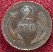 Denmark 2 Ore 1874 (C1802)