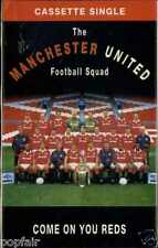 THE MANCHESTER UNITED FOOTBALL SQUAD - COME ON YOU REDS 1994 UK CASSINGLE