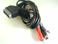 SCART a 2 Rca & svideo SVGA, TV para PC, etc. 1.5 metros OM1076A