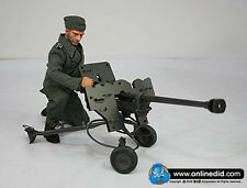 "DID 1/6 Scale 12"" WWII German Peter Greim with a PzB41 Anti-Tank Rifle D80032"