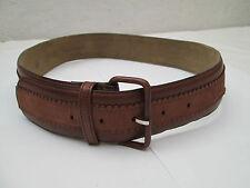 AUTHENTIQUE  ceinture DANIEL HECHTER   cuir  TBEG  vintage