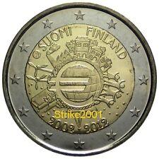 2 EURO COMMEMORATIVO FINLANDIA  2012 10° Anniversario
