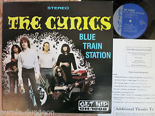 THE CYNICS - Blue Train Station  LP  GET HIP GH-1000  ORIGINAL not reissue