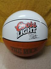 NOS coors light basketball the rock dick vitale inflatable   Man Cave