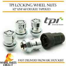 "TPI Premium Locking Wheel Nuts 1/2"" UNF with Key for Alloy & Steel Wheels"