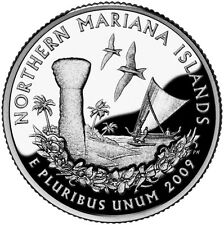 2009 S Northern Mariana Islands Territorial Quarter Clad Proof