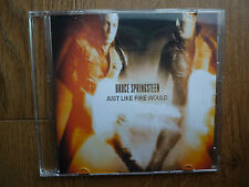 Bruce Springsteen - Just Like Fire Would - rare 1 track Dutch promo CD / CDR !!