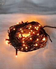 Teeny Tiny ~ Rice Light ~ Fairy Light ~ Light String ~ Brown Cord  ~ 100 count