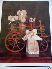 Christmas Angel Craft pattern Sweet Annie Country Primitive Thimbleberries doll