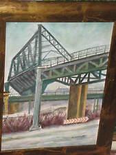 KOHLHOFF Walter, *1906 Eisenbahnbrücke in Berlin