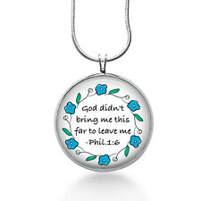 Bible vs necklace, Inspirational, Encouragement ,healing, get well,christian