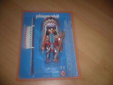 Playmobil Figur *INDIANER HÄUPTLING* zum Indianerdorf Western - NEU im BLISTER s