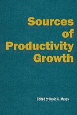 National Institute of Economic and Social Research Occasional Papers: Sources...