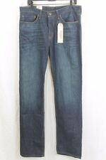 MENS LEVIS 514 DARK WASH STRAIGHT FIT JEANS 34 X 34 ZIP FLY BRAND NEW HAS STAIN