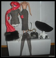 OUTFIT COMPLETE  MATTEL BARBIE DOLL HOLLYWOOD PUBLICITY TOUR ENSEMBLE