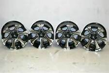 "4 - 15X10 DICK CEPEK DC-2 BLACK WHEEL SET 15"" 5X4.5"