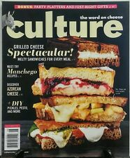 Culture Autumn 2016 Grilled Cheese Spectacular Manchego Recipes FREE SHIPPING sb