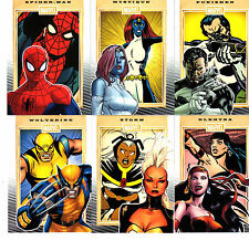 Marvel  75th Anniversary Complete 90 card Base set &  PROMO P1 + wrapper